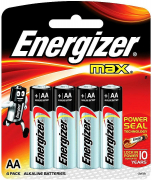 Элемент питания  MAX E91 AA LR06  Energizer